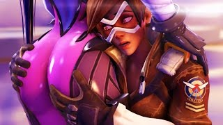 Playing w/ WORLD'S HOTTEST GAMING Characters (Overwatch)