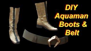 Aquaman Costume Tutorial Part 4: Boots and Belt