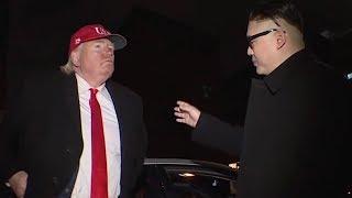 'I still have a bigger button': Trump 'negotiates' with Kim in S. Korea