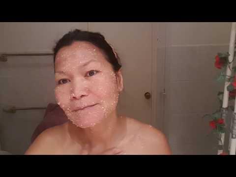 หน้ากากกระสำหรับผิวแห้ง