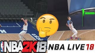 NBA LIVE 18 VS NBA 2K18 Jumpshot Comparisons