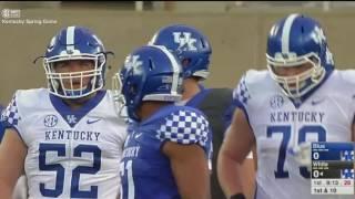 Kentucky Football Spring Game 2017