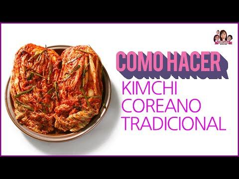 Como hacer kimchi coreano paso a paso – receta de kimchi en español – COMIDA FERMENTADA
