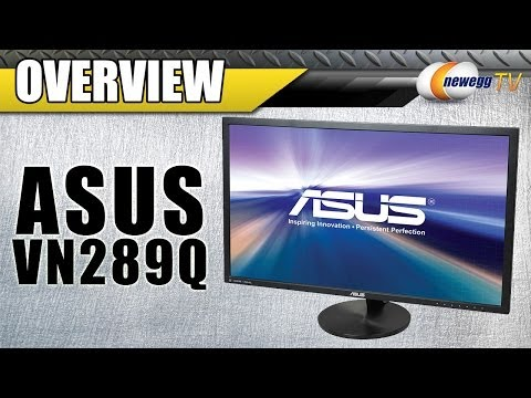 """ASUS VN289Q 28"""" HDMI Widescreen LED LCD Monitor Overview - Newegg TV"""