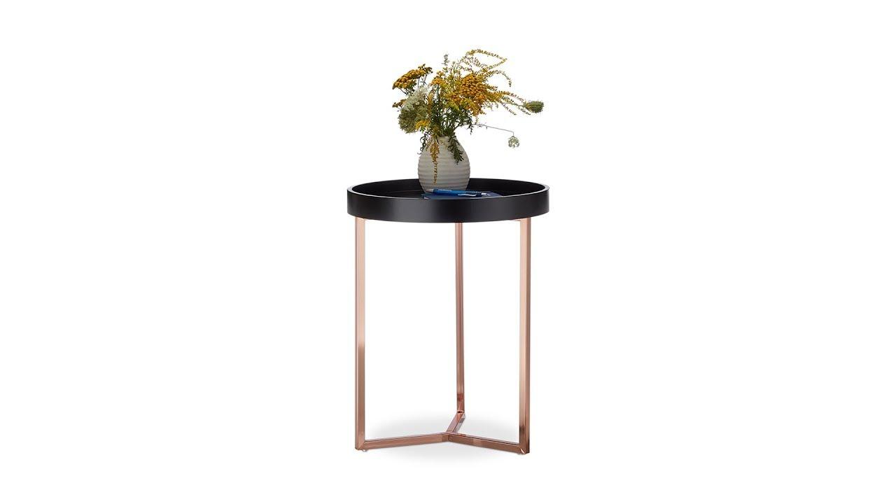 beistelltisch mit tablett zum abnehmen online kaufen. Black Bedroom Furniture Sets. Home Design Ideas