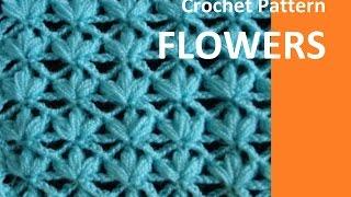 Crochet Pattern* FLOWERS *