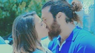 Erkenci Kuş 46. BölümCan Sanem KISS US   James Baykiss And Almost Kiss #CanEm In Episode 46