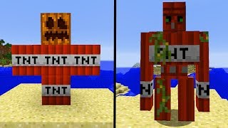 35 Neue Minecraft Golems!   Extra Golems Minecraft MOD