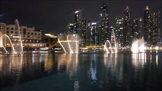 11.11.18 Поющий фонтан в Дубай ОАЭ:)  singing fountain in dubai