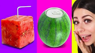 Watermelon Hacks That Will Blow Your Mind !
