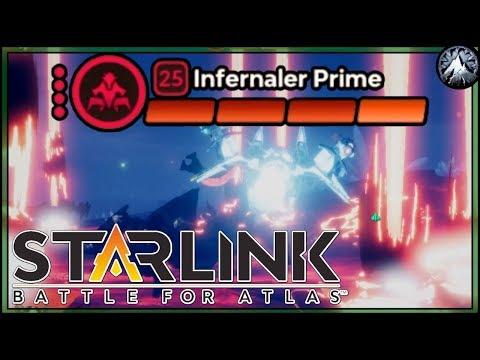 Fighting an Infernal Prime in Starlink: Battle for Atlas - смотреть