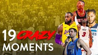 NBA   19 CRAZY Moments of the 2018-19 Season