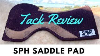 Popular Barrel Racing Saddle Pad Review, The New SPH!
