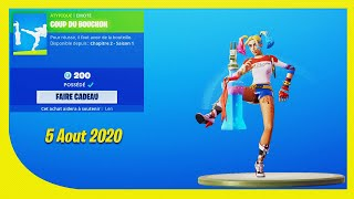 BOUTIQUE FORTNITE Du 5 Aout 2020 ! ITEM SHOP August 5 2020 !