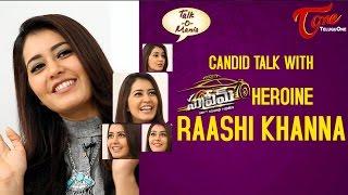 Rashi Khanna Exclusive Interview   Supreme Movie