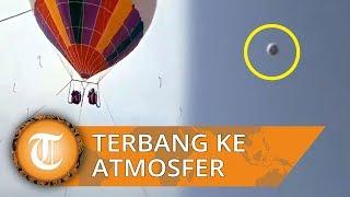 Ibu dan Anak Tewas seusai Wahana Balon Udara Lepas dan Terbang ke Atmosfir lalu Menghujam Tanah