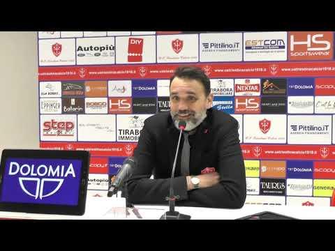 Sala stampa Triestina-Vis Pesaro: Nicola Princivalli