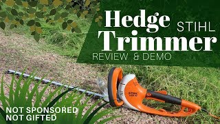 Stihl HSE 71 Hedge Trimmer Review: Maintaining Our Country Hedgerow