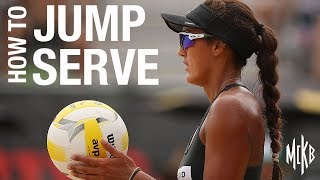 How to Jump Serve - Beach Volleyball Tutorial