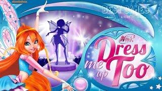 Winx Club: Dress Me Up Too | Nickelodeon Best Game 4 Girls