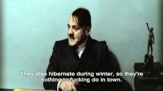 Hitler Parody Throw...forward?: Hitler Finds Out Humans Have Evolved!