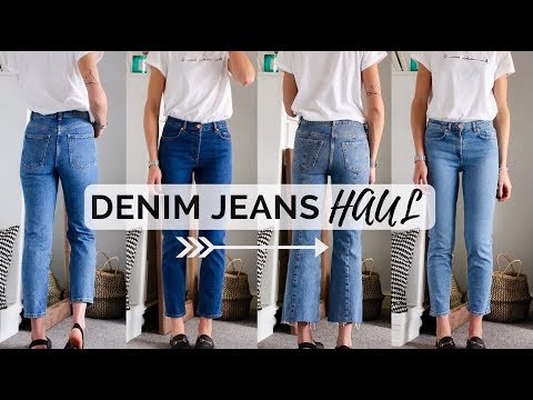 DENIM JEANS HAUL – ASOS + & OTHER STORIES – Finding denim jeans that fit after weight loss