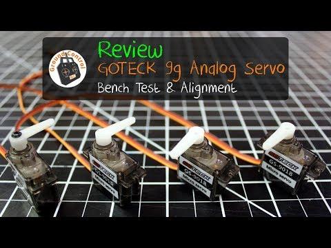 Review - GOTECK GS-9018C Brush Micro Servo 9g 1.5KG from Banggood