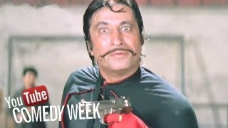 Best comedy scenes of Paresh Rawal and Shakti Kapoor - Andaz Apna Apna