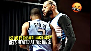 The REAL UNCLE Drew vs Iso Joe Johnson GOT HEATED at The Big 3!! Royce White Back Down From NO ONE!