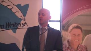 The Hon. Niall Blair Delivering The Farm Writers Christmas Address (part 1)