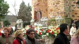 preview picture of video 'Comienzo procesion san blas 2009'