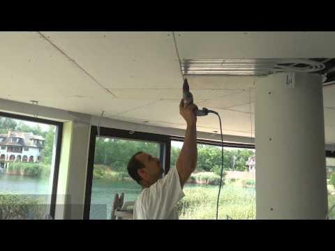 Aktivni betonski sistem za hlađenje i grijanje