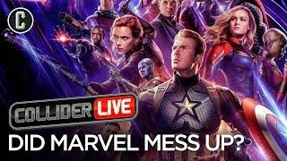 Avengers: Endgame Poster Backlash Shows Results - Collider Live #93