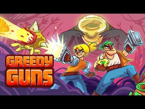 Greedy Guns launch trailer 2017 thumbnail