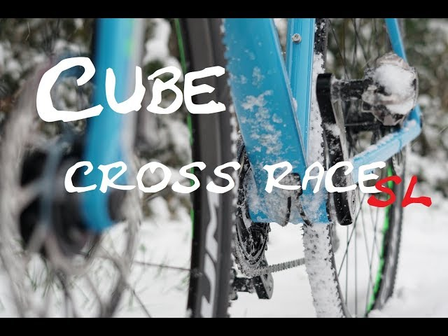 Видео Велосипед Cube CROSS RACE SL blue-green