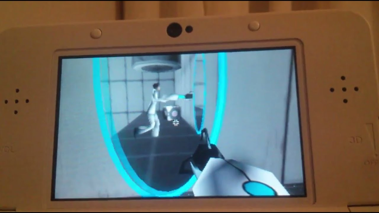 Portal On The 3DS Looks Great!