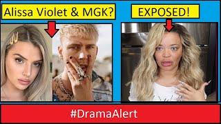 Alissa Violet & MGK ??? #DramaAlert Trisha Paytas tries to take down Small YouTuber!