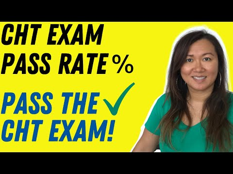 Pass Rate for The CHT Exam | Hand Board Exam Prep-Course ...