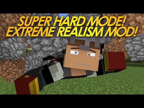 Minecraft Mods | EXTREME Realism Mod | Super Hard Mode! (Mod Showcase)