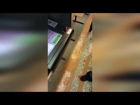 ВОРКУТА. Выборы без выбора.18/03/2018. Путин вместо Грудинина в аппарате для голосования!!!