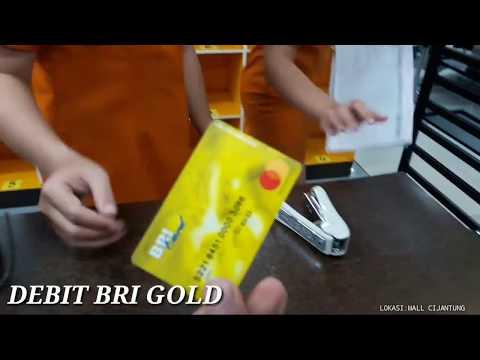 BELANJA MENGGUNAKAN KARTU DEBIT BRI GOLD