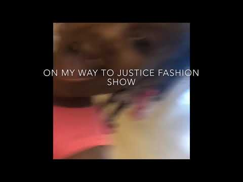 Londyn's 1st fashion show with justice