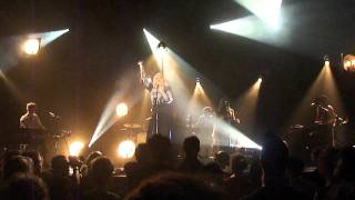 """Ane Brun performing """"The Light From One"""" live in the Melkweg Amsterdam on Oct 18, 2011"""