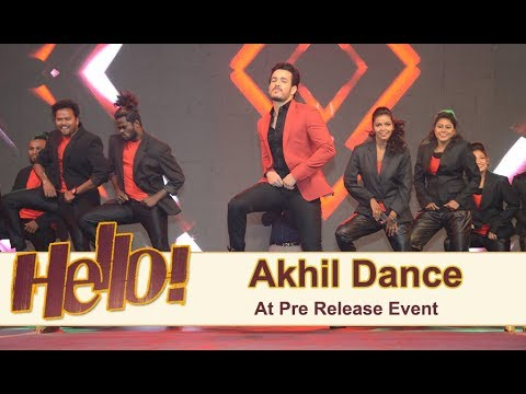Akhil Dance Performance 2 At Hello Pre Release Event