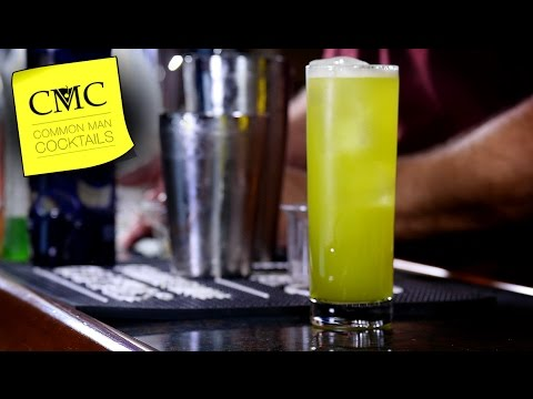 Galapagos Cooler / Green Drink with Cachaca & Tonic!?