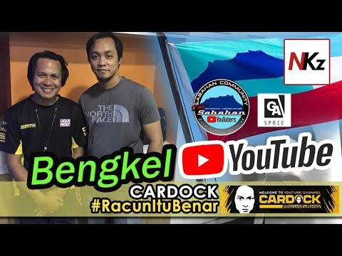 Bengkel Youtube #Cardock #RacunItuBenar Di GASpace, Kota Kinabalu, Sabah
