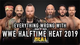 Episode #408: Everything Wrong With WWE Halftime Heat 2019