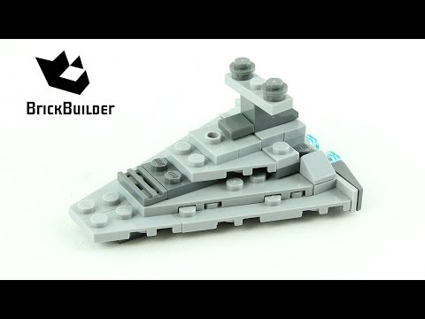 Vidéo LEGO Star Wars 30056 : Star Destroyer (Polybag)
