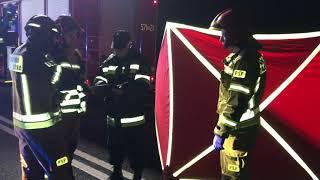 Wideo1: Śmiertelny wypadek na drodze Rojęczyn - Bojanowo