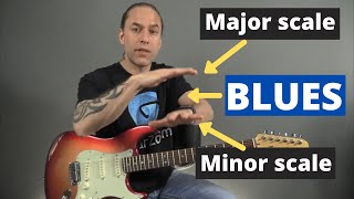 Where The Blues Magic Starts (Combining Major and Minor Pentatonic)